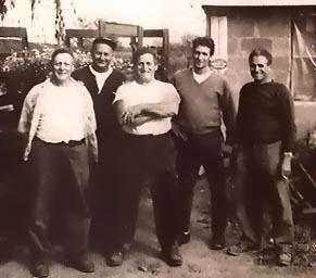 Original owners Armand Rainville, Neil Tommasini, Sal Valoze and John Tommasini.